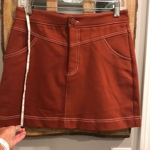 Zara Jean mini skirt size M